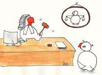 Beim Gericht