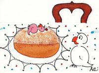 Karneval Pfannkuchen
