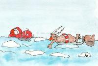 Schwimmlieferung