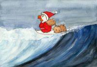 Surfer Nikolaus