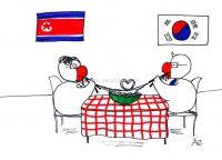 Die koreanischen Liebesnudeln
