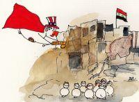 USAs alleinige Intervention in Syrien